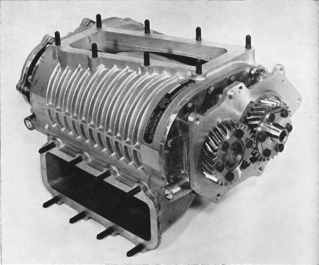 Vintage blower from an old article